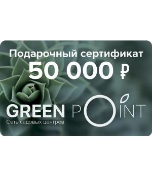 Сертификат номиналом 50000р.